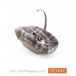 Textil Newborn Tartan Azul de Stokke