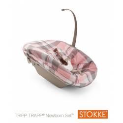 Textil Newborn Tartan Rosa de Stokke