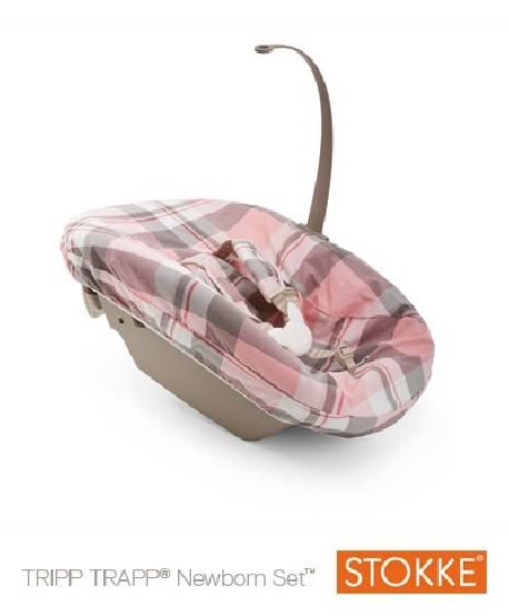 Textil NewBorn Tartan Pink