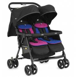 Silla de Paseo Gemelar Joie Aire Twin Pink and Blue
