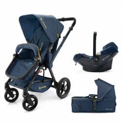 Cochecito 3 piezas Wanderer Mobility-Set de Concord color azul
