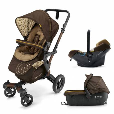 Cochecito 3 piezas Neo Travel-Set de Concord color marron