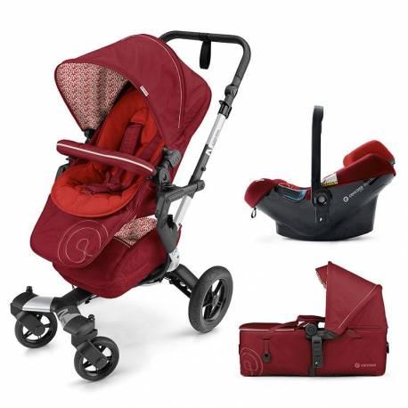 Cochecito 3 piezas Neo Mobility-Set de Concord color rojo