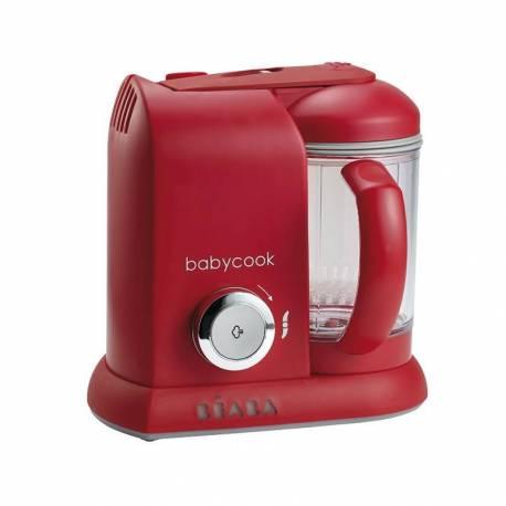 BabyCook Solo de Beaba color rojo