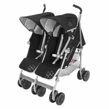 Silla de paseo Twin Techno de Maclaren color Black