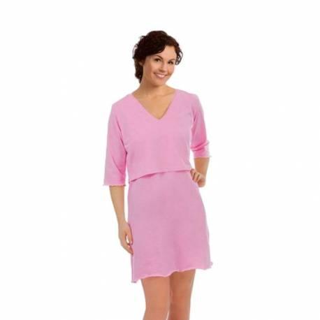 Camisón Lactancia Carrywell rosa