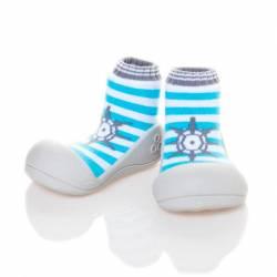 Zapatos Marine Azul Cielo para Bebé de Attipas
