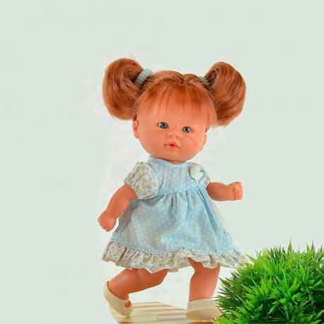 Muñeca Bomboncín con Vestido Azul