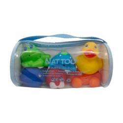 Muñecos de Baño Nattou 6 Unidades