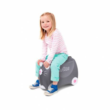 Maleta Correpasillos Trunki Benny the Cat