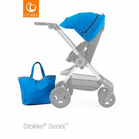Kit de Estilo Stokke Scoot azul