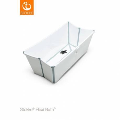 Bañera Plegable Flexi Bath de Stokke blanco