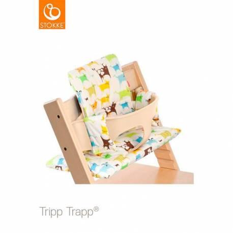Cojín Tripp Trapp de Stokke Tales Verde