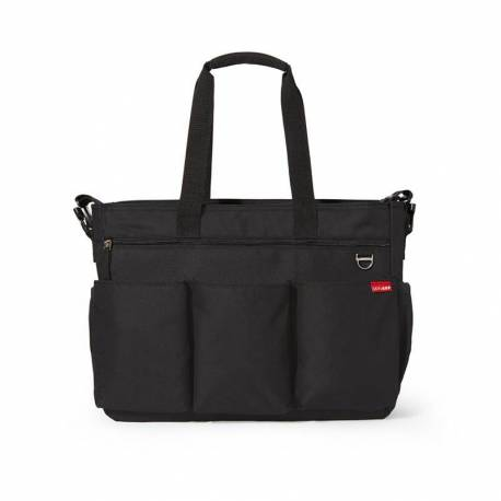 Bolso Skip Hop DUO DOUBLE BLACK/Negro
