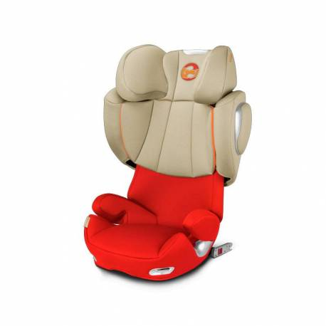 Silla de Coche Solution Q3-Fix de Cybex autumn gold
