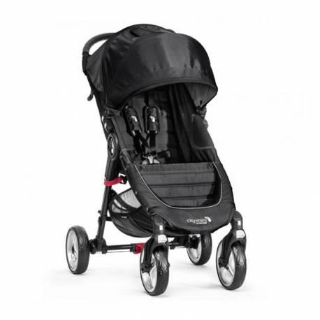 Silla de paseo City Mini 4 de Baby Jogger negro
