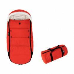Saco de invierno para silla de paseo Babyzen YOYO color rojo