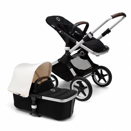 Bugaboo Fox Blanco Natural y Negro
