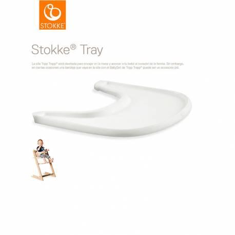 Bandeja Stokke@Tray para Tripp Trapp blanco