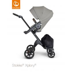 Silla Xplory V6 Stokke gris brushed