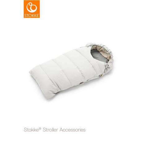 Saco de invierno de Stokke blanco perla