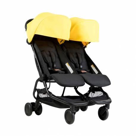 Silla de Paseo Nano Duo de Mountain Buggy amarillo
