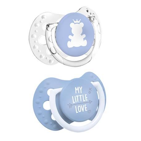 Chupete Dinámico Lovi My Little Love 0-2 Meses azul