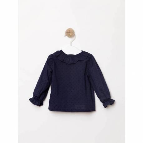 Camisa plumeti marino del conjunto Plumas de Formi Baby