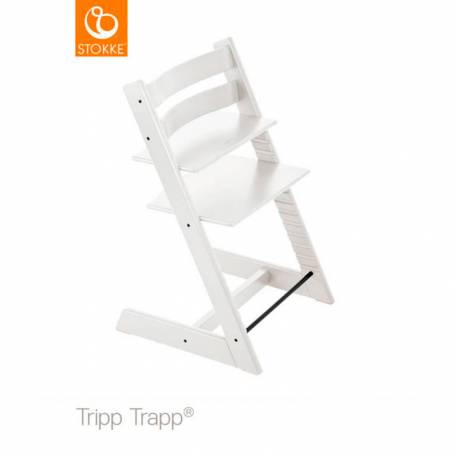 Trona Tripp Trapp + Baby Set de Stokke blanco
