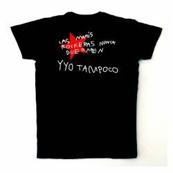 Camiseta Deportiva para Hombre Las Mamis Rockeras Nunca Duermen
