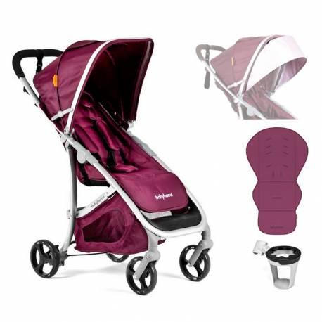 Silla de Paseo Emotion de Babyhome Especial Pack violeta
