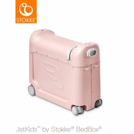 Maleta JetKids Bed Box de Stokke rosa limonada