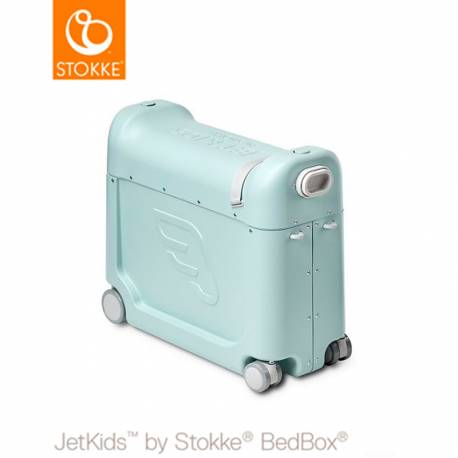 Maleta JetKids Bed Box de Stokke verde aurora