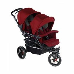 Silla Gemelar Powertwin Pro de Jané t57 red being