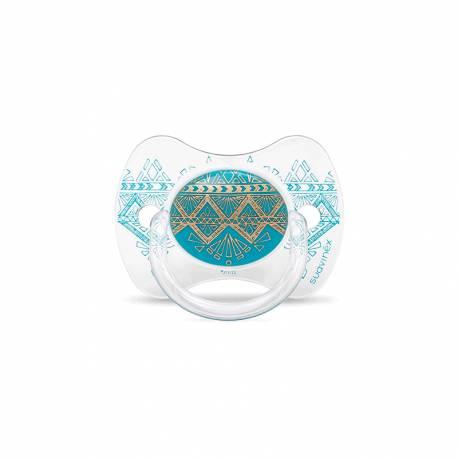 Chupete Anatómico Suavinex Premium +18m Azul claro