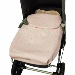 Saco de Capazo Universal Home and Kids rosa