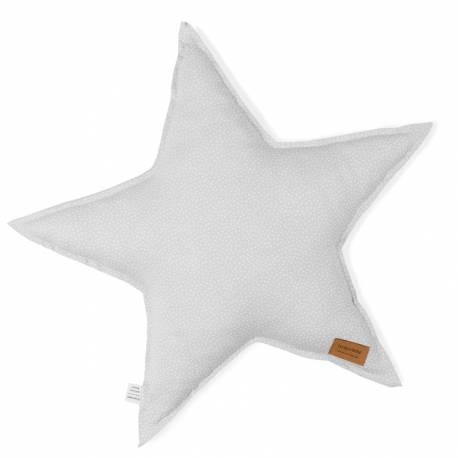 Cojín Estrella Bonjourbébé My Planet gris