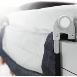 Barrera de cama abatible+plegable 140cm para cama compracta de JANE