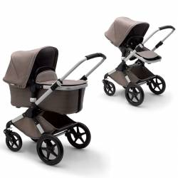 Bugaboo Fox Mineral Collection aluminio taupe