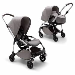 Bugaboo Bee 5 Mineral Collection aluminio gris