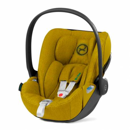 Silla de Coche Cybex Cloud Z i-Size Plus mustard yellow