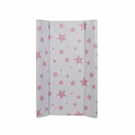 Cabiador blando VICHY estrellas rosa