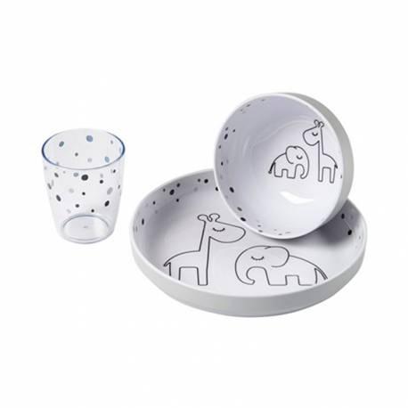Vajilla 3 Piezas Done By Deer Dreamy Dots