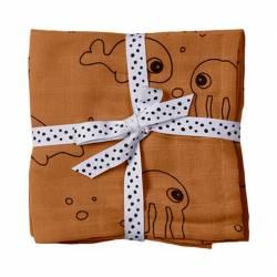 Muselinas para Bebé Done By Deer Sea Friends 2 unidades