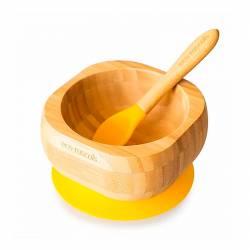 Bowl de Bambú Ecológico con Cuchara de Eco Rascals