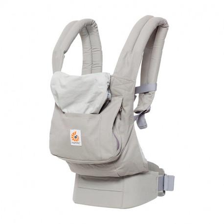 Mochila Porta bebé Original de ERGOBABY gris perla