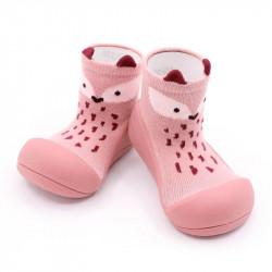 Zapatos para Bebé Attipas fox rosa