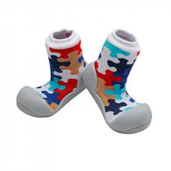 Zapatos para Bebé Attipas Puzzle Gris