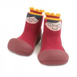 Zapatos para Bebé Attipas King Queen Rojo