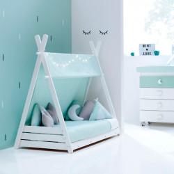 Cama Alondra Montessori Homy Mint 140 x 70 cm